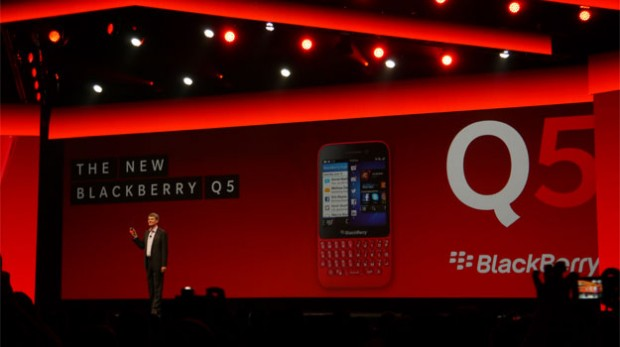 BlackBerry Q5 Event
