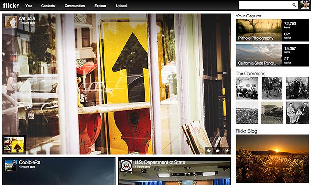 Flickr Activity Feed