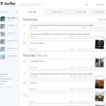 Buffer App Dashboard Posts