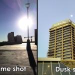 Huawei Ascend Mate daytime dusk shots