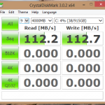 Crystal Disk Mark – Sequential Reads and Writes