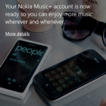 Nokia Music+ Screenshot